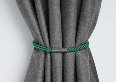cortina y agarraderas